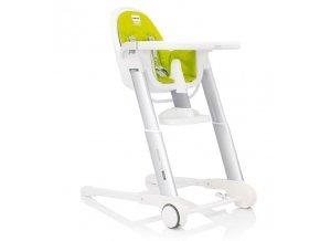 ZUMA WH LIM designová židlička Inglesina  do cca 3 let, nastavitelná do 8výšky  a polohovací do 3 poloh vhodná od cca 4 měsíců