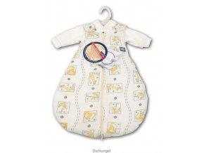 ARO novorozenecký spací vak 3v1 BabySafe Trolly jerzej Džungle v.50/56