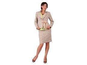 Dámské a těhotenské sako na zavazování, které je velmi pohodlné na nošení.