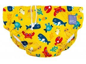 Kalhotky koupací Deep Sea Yellow vel.L