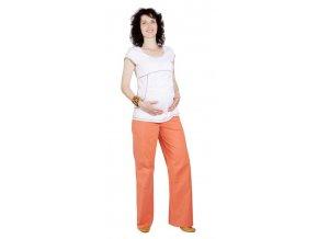 Těhotenské tričko Rialto Piana bílá 0098 (Dámská velikost 36)