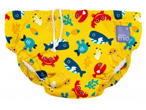 Kalhotky koupací Deep Sea Yellow vel.S