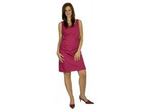 Těhotenské šaty Rialto PetaNGUE fialové 0108 (Dámská velikost 36)