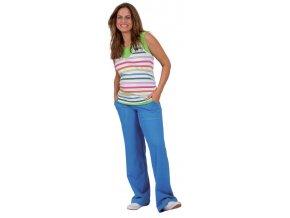 Těhotenské tepláky Rialto LILLY modré 0193 (Dámská velikost 44)