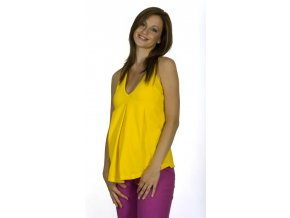 Těhotenské tílko Rialto Contern žluté 0107 (Dámská velikost 38)