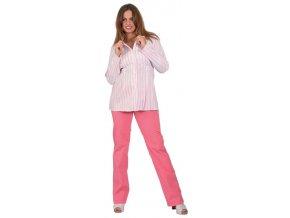 Těhotenské kalhoty Rialto Chicio růžové 19173 (Dámská velikost 36)