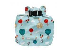 Nepromokavá taška na plenky nebo plavky Bambino Mio SKY