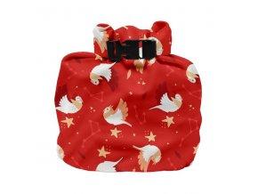 Praktická nepromokavá taška na použité plenky nebo mokré plavky Bambino Mio WNB STAR