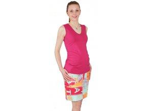 Těhotenské tílko Rialto Castirla fialová 0108 (Dámská velikost 36)