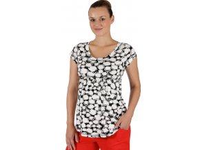 Těhotenské tričko Rialto Salice bíločerná kostka 7694 (Dámská velikost 40)