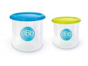 dBb209649 2 misky na zmražení dětských pokrmů