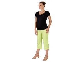 Těhotenské tričko Rialto Dippach černé 0113 (Dámská velikost 36)