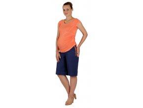 Těhotenské tričko Rialto Nonza korálová 0067 (Dámská velikost 36)