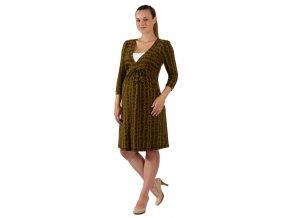 Těhotenské a kojící šaty Rialto Lovdaun 0152 (Dámská velikost 36)