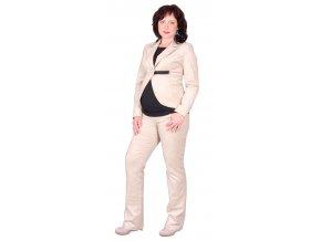 Těhotenské manžestrové kalhoty Rialto Stein zlaté 1920 (Dámská velikost 36)