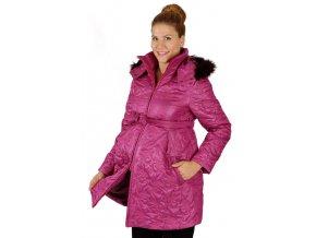 Těhotenská bunda Rialto Maren Růžová 0366