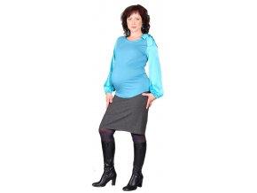 93586a5b6ee Těhotenská sukně Rialto BALK šedá 0344