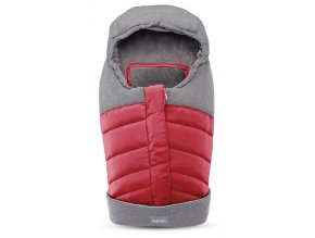 NEWBORN WINTER MUFF RED 01