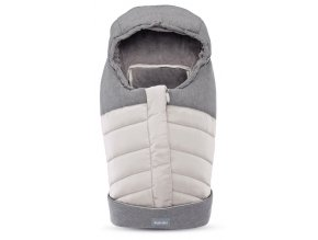 NEWBORN WINTER MUFF SLV 01