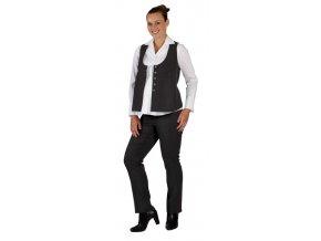 Těhotenská vesta Rialto Wiltz šedá 0087