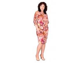 Těhotenské šaty Rialto Loon červený vzor 0355 (Dámská velikost 36)