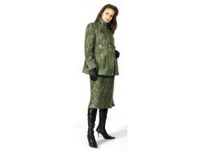 Těhotenský kabátek Rialto Galson zelený 0093