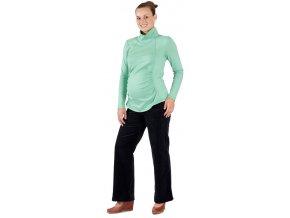 Těhotenské manžestrové kalhoty Rialto Stornoway černé 19234 (Dámská velikost 36)