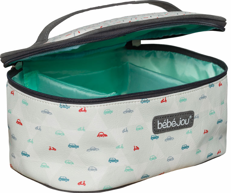 Beautycase kosmetická taška s odepínacím víkem Bébé-Jou Wheely