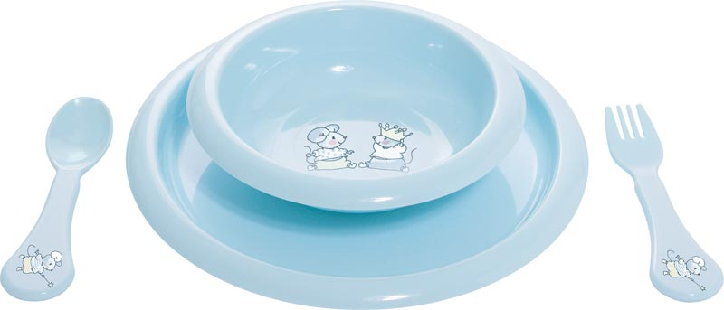 Bebe-Jou Jídelní souprava Bébé-Jou Little Mice
