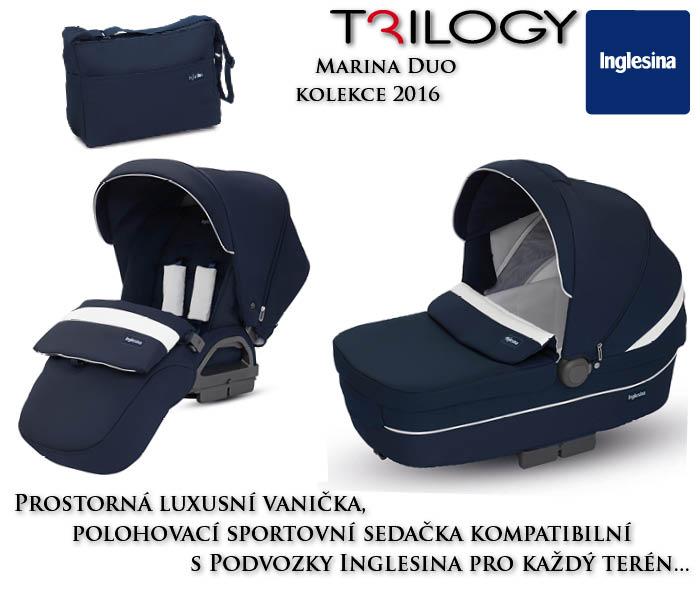 Inglesina Trilogy 2+1 Marina 2016 podvozek: bez podvozku