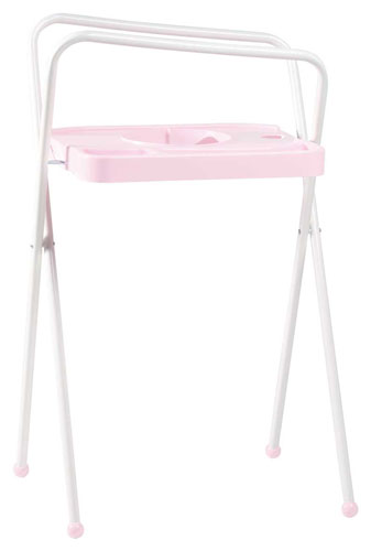 Bebe-Jou Kovový stojan na vaničku Bébé-Jou 98cm světle růžový