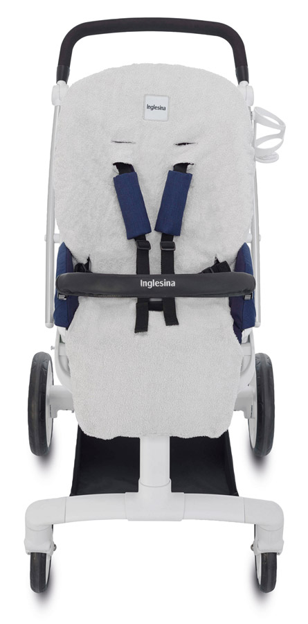 Inglesina letní froté vložka pro sportovní sedačku Quad a Sofia light grey