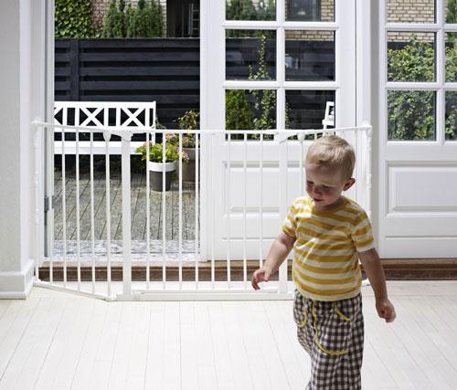 Baby Dan Prostorová zábrana Flex M bílá 90-140 cm