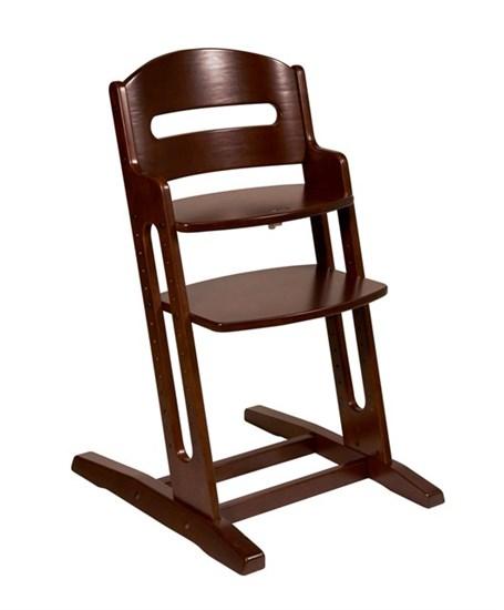 BabyDan Dřevěná jídelní židlička DanChair Walnut