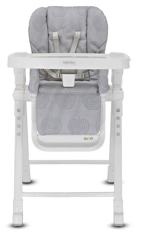 Jidelní židlička Inglesina GUSTO Silver