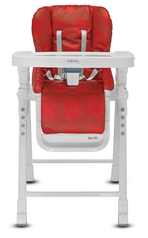 Jidelní židlička Inglesina GUSTO Strawberry