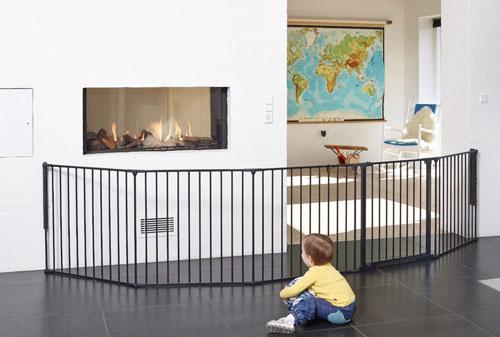Baby Dan Prostorová zábrana Supreme OLAF XXX černá 90-350 cm