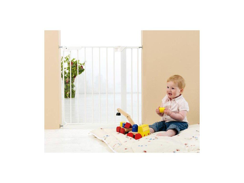 Baby Dan BabyDan tlaková zábrana Danamic 73-93,5 cm bílá, 2 Prodloužení