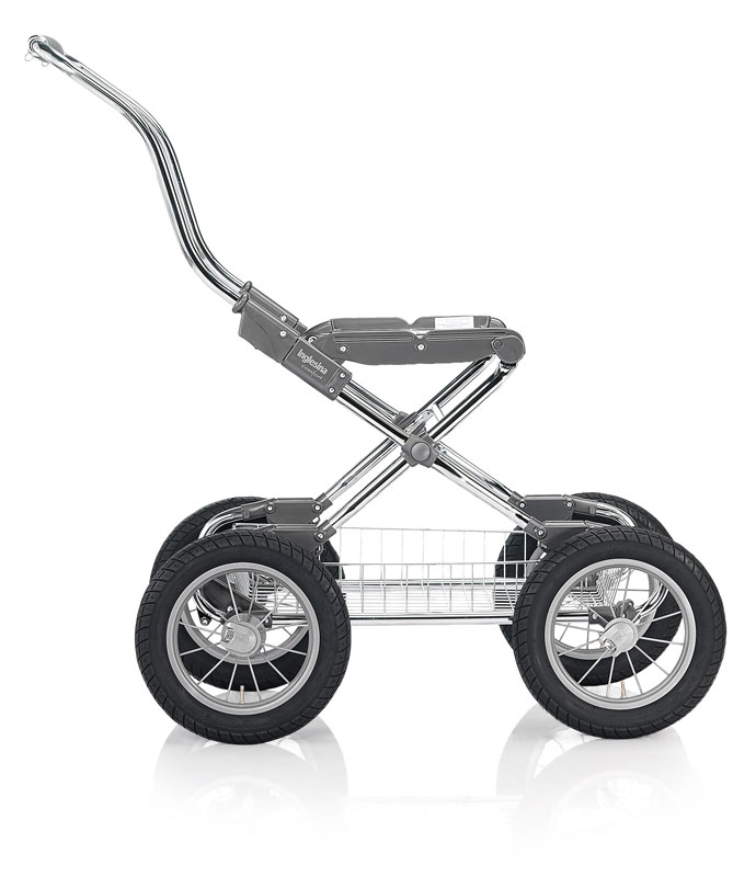 Podvozek Inglesina Comfort Chrom Bike Ardesia modulární