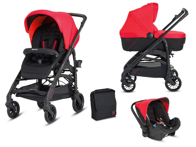 Kočárek Inglesina Trilogy System Colors 3v1 2016 - race red
