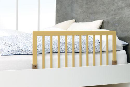 Baby Dan Zábrana k posteli dřevěná přírodní 45x90cm