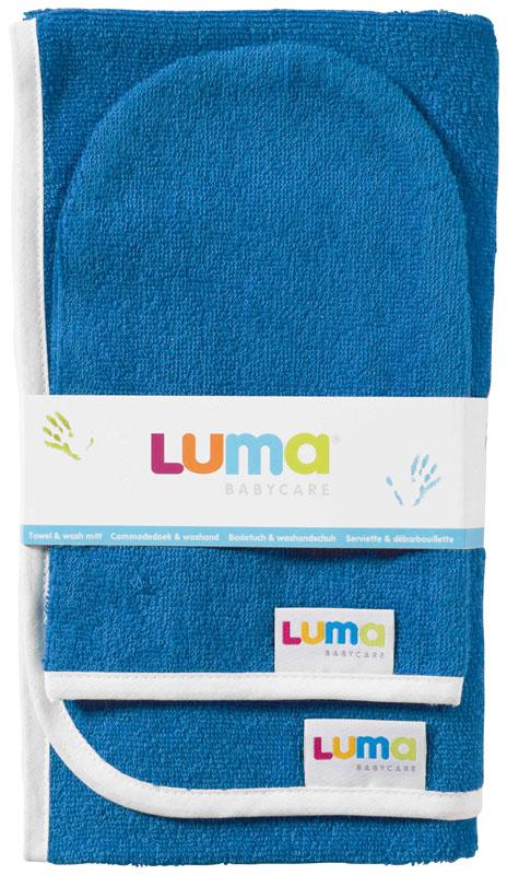 Bebe-Jou Dětský froté ručník a žíňka LUMA - ocean blue