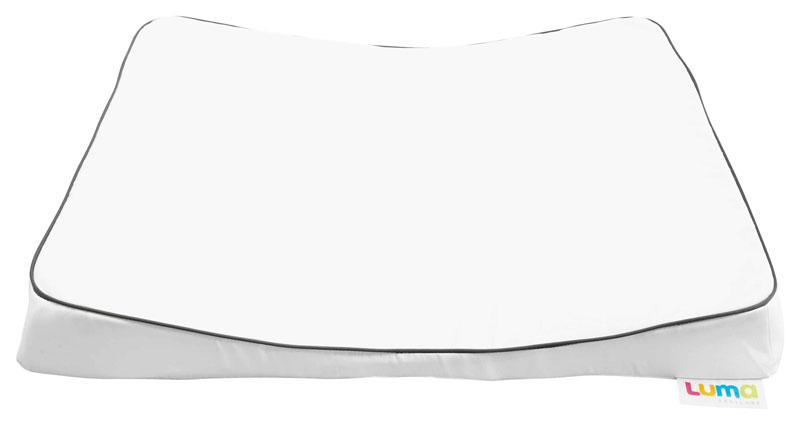 Bebe-Jou Velká přebalovací podložka LUMA XL snow white