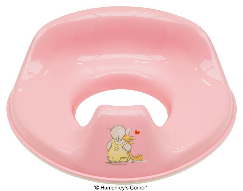 Bebe-Jou Tréninkové sedátko na toaletu Bébé-Jou Humphrey růžový