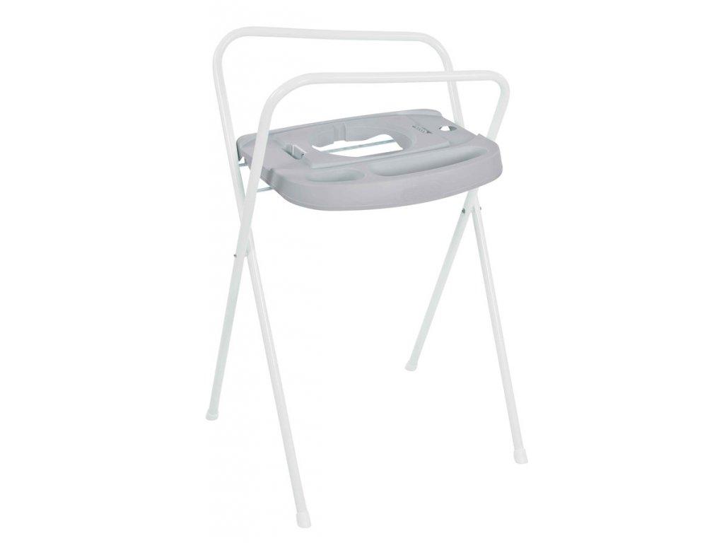Bebe-Jou Kovový stojan Click na vaničku Bébé-Jou 103cm světle šedý