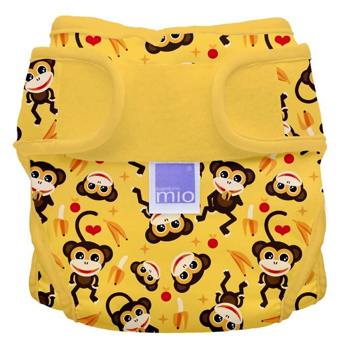 Bambino Mio Miosoft plenkové kalhotky Cheeky Monkey vel. 2
