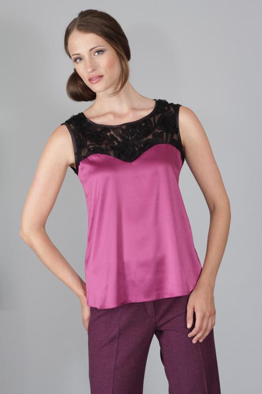 Dámský top - tričko Rialto HOFF fialové 0347