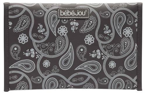 Bebe-Jou Pouzdro na plenku Bébé-Jou Paisley print stříbrná