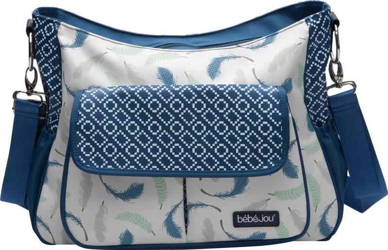 Bebe-Jou Luxusní přebalovací taška Bébé-Jou Little Dreamer pírka