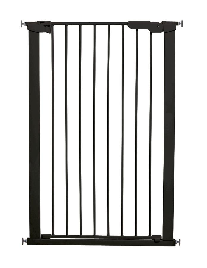 Baby Dan vysoká zábrana Premier PET GATE, š. 73-80 cm černá